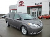 2011 Predawn Gray Mica Toyota Sienna Limited #76565286