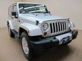 2012 Bright Silver Metallic Jeep Wrangler Sahara 4x4 #76564528