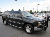 2005 Dark Gray Metallic Chevrolet Silverado 1500 LS Extended Cab 4x4 #76565066