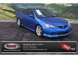 2006 Vivid Blue Pearl Acura RSX Type S Sports Coupe #76564522