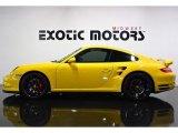 2007 Speed Yellow Porsche 911 Turbo Coupe #76565275