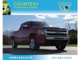 2011 Victory Red Chevrolet Silverado 1500 LT Extended Cab #76565061