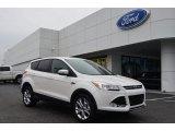 2013 White Platinum Metallic Tri-Coat Ford Escape SEL 1.6L EcoBoost #76564752