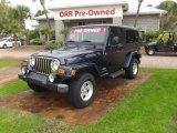 2006 Midnight Blue Pearl Jeep Wrangler Unlimited 4x4 #76565271