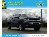 2010 Laser Blue Metallic Chevrolet Silverado 1500 LT Crew Cab #76565054