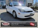 2003 Cloud 9 White Ford Focus SE Sedan #76565173
