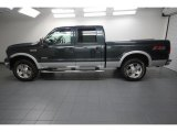 2007 Ford F250 Super Duty Dark Green Satin Metallic