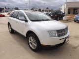 2010 White Platinum Tri-Coat Lincoln MKX FWD #76564947