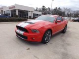 2011 Race Red Ford Mustang Shelby GT500 Coupe #76564939