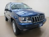 2002 Patriot Blue Pearlcoat Jeep Grand Cherokee Limited #76624074