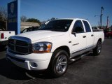 2006 Bright White Dodge Ram 1500 Laramie Quad Cab #76624391
