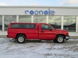 2006 Victory Red Chevrolet Silverado 1500 Work Truck Regular Cab #76624278