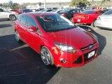 2012 Red Candy Metallic Ford Focus Titanium 5-Door #76624162