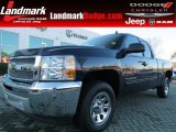 2012 Imperial Blue Metallic Chevrolet Silverado 1500 LS Extended Cab #76624260