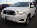 2010 Blizzard White Pearl Toyota Highlander  #76624048