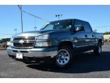 2006 Blue Granite Metallic Chevrolet Silverado 1500 LS Crew Cab #76624543