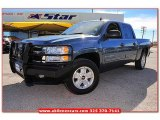 2010 Blue Granite Metallic Chevrolet Silverado 1500 LT Crew Cab #76624457