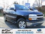 2004 Dark Blue Metallic Chevrolet Tahoe LS #76624451