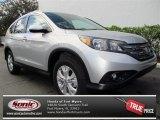 2013 Alabaster Silver Metallic Honda CR-V EX-L #76624082