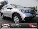 2013 Alabaster Silver Metallic Honda CR-V EX-L #76624081