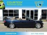 2005 Monaco Blue Metallic BMW 3 Series 330i Convertible #76624185