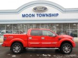 2011 Race Red Ford F150 FX4 SuperCrew 4x4 #76624320