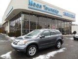 2010 Polished Metal Metallic Honda CR-V EX AWD #76624315