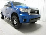 2007 Blue Streak Metallic Toyota Tundra Limited CrewMax 4x4 #76624513