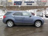 2013 Atlantis Blue Metallic Chevrolet Equinox LT AWD #76624309