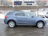 2013 Atlantis Blue Metallic Chevrolet Equinox LT AWD #76624308