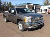 2013 Graystone Metallic Chevrolet Silverado 1500 LT Extended Cab 4x4 #76682264