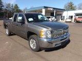 2013 Graystone Metallic Chevrolet Silverado 1500 LT Extended Cab #76682263