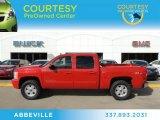2008 Victory Red Chevrolet Silverado 1500 LTZ Crew Cab 4x4 #76682367