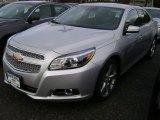 2013 Silver Ice Metallic Chevrolet Malibu LTZ #76681641