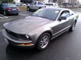 2005 Mineral Grey Metallic Ford Mustang V6 Deluxe Coupe #76682130