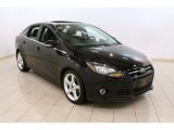 2012 Black Ford Focus Titanium Sedan #76682245