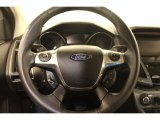 2012 Ford Focus Titanium Sedan Steering Wheel