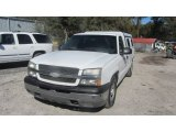 2003 Summit White Chevrolet Silverado 1500 Regular Cab #76682234