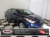 2012 Indigo Night Blue Hyundai Elantra GLS #76682229