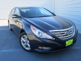 2013 Pacific Blue Pearl Hyundai Sonata Limited #76682101