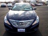 2013 Indigo Night Blue Hyundai Sonata SE 2.0T #76681866