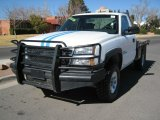 2005 Chevrolet Silverado 2500HD Work Truck Regular Cab 4x4 Flat Bed Data, Info and Specs