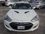 2013 White Satin Pearl Hyundai Genesis Coupe 3.8 Track #76681861