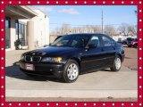 2002 Jet Black BMW 3 Series 325xi Sedan #76682093