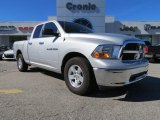 2012 Bright Silver Metallic Dodge Ram 1500 SLT Quad Cab #76682091