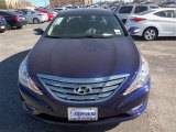2013 Indigo Night Blue Hyundai Sonata Limited #76681856