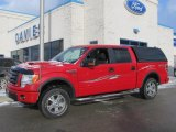 2010 Vermillion Red Ford F150 FX4 SuperCrew 4x4 #76682080