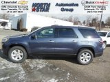 2013 Atlantis Blue Metallic GMC Acadia SLE #76682067