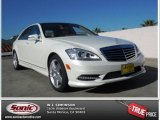 2013 Diamond White Metallic Mercedes-Benz S 550 Sedan #76681968