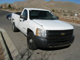2009 Summit White Chevrolet Silverado 1500 Regular Cab 4x4 #76682296
